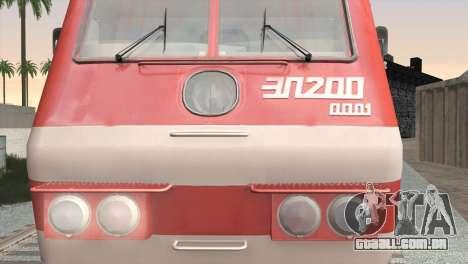 ÈP200-0001 para GTA San Andreas esquerda vista