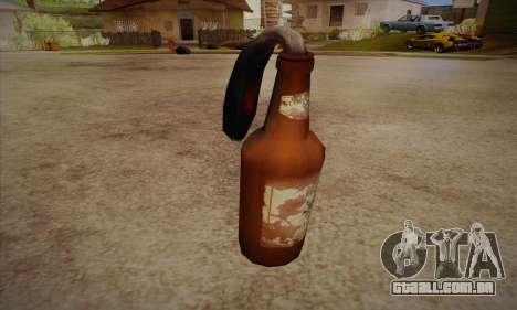 Coquetel Molotov de Left 4 Dead 2 para GTA San Andreas segunda tela