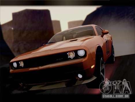 Dodge Challenger SRT8 2012 HEMI para as rodas de GTA San Andreas