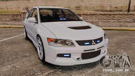 Mitsubishi Lancer Unmarked Police [ELS] para GTA 4