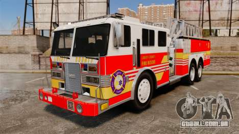 MTL Firetruck MDH1000 LCFR [ELS] para GTA 4