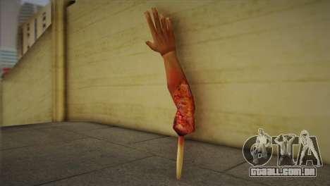 Zomie Hand para GTA San Andreas segunda tela