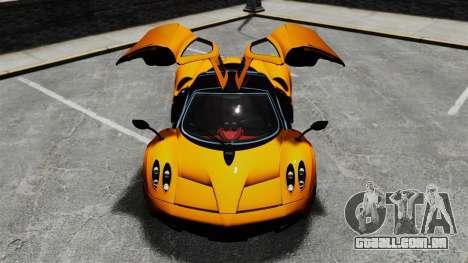 Pagani Huyara [EPM] para GTA 4 rodas