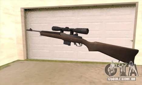 Rifle sniper de Left 4 Dead 2 para GTA San Andreas segunda tela