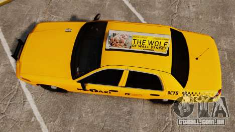 Ford Crown Victoria 1999 NYC Taxi v1.1 para GTA 4 vista direita