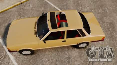 Ford Taunus GLS v2.0 para GTA 4 vista direita
