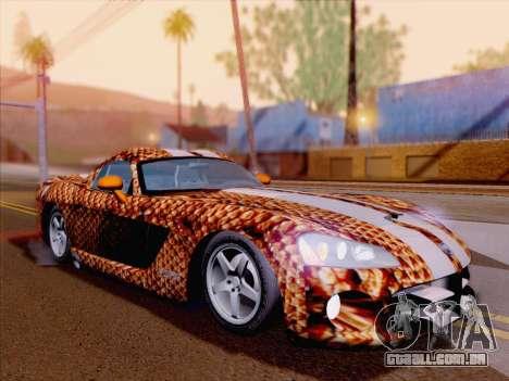 Dodge Viper SRT-10 Coupe para o motor de GTA San Andreas
