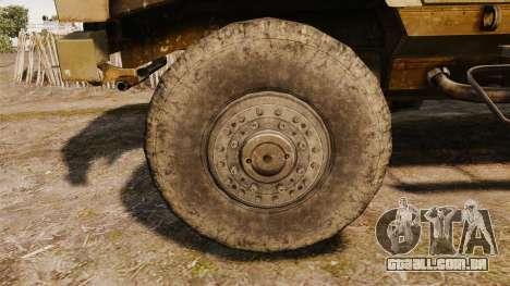 Oshkosh M-ATV para GTA 4 vista de volta
