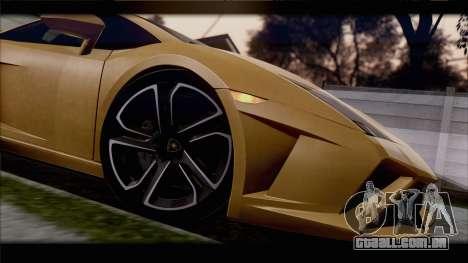 Lamborghini Gallardo LP560-4 Coupe 2013 V1.0 para GTA San Andreas vista interior