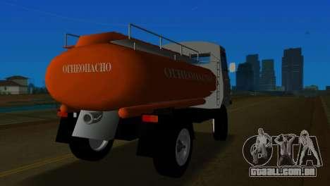 UAZ 465 caminhão para GTA Vice City vista traseira esquerda