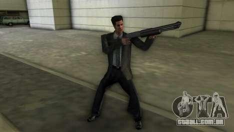 Max Payne para GTA Vice City por diante tela
