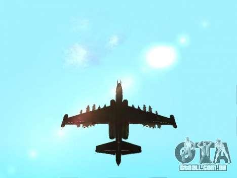 Su-25 para GTA San Andreas vista direita