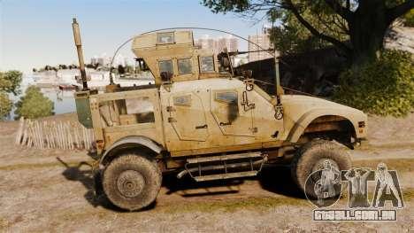 Oshkosh M-ATV para GTA 4 esquerda vista