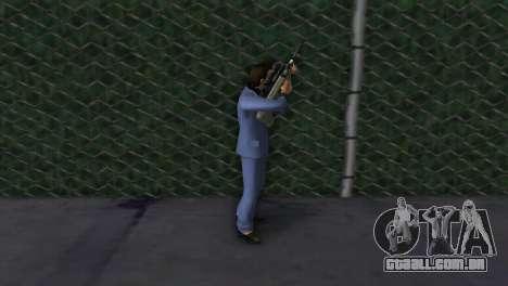 Steyr AUG para GTA Vice City por diante tela