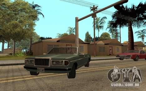 Admiral Cabrio para GTA San Andreas