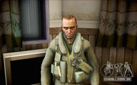 Nicholas de Call of Duty MW2 para GTA San Andreas