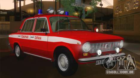 VAZ 21011 protecção contra incêndios para GTA San Andreas esquerda vista