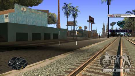 C-HUD Cesar Weezy para GTA San Andreas terceira tela