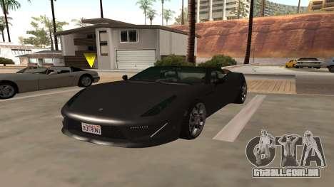 Carbonizzare de GTA 5 para GTA San Andreas