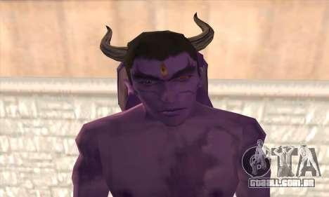 Devil Kazuya Mishima para GTA San Andreas terceira tela