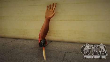 Zomie Hand para GTA San Andreas