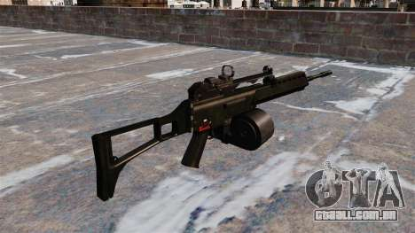 Fuzil de assalto HK MG36 para GTA 4 segundo screenshot