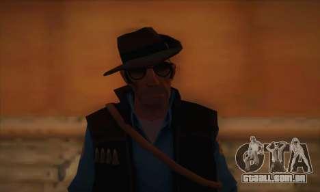 Atirador de pele de Team Fortress 2 para GTA San Andreas terceira tela
