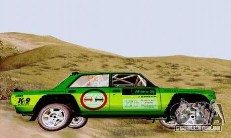 Lada 2105 VFTS para GTA San Andreas vista direita