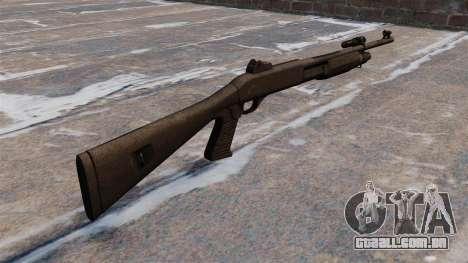 Caçadeira Benelli M3 Super 90 para GTA 4 segundo screenshot