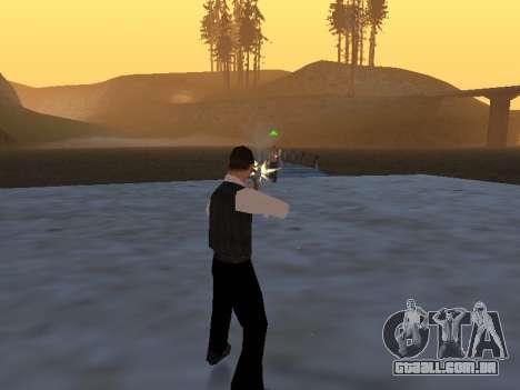 Um mito sobre o pescador para GTA San Andreas terceira tela
