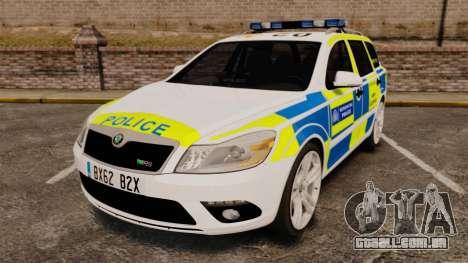 Skoda Octavia Scout RS Metropolitan Police [ELS] para GTA 4