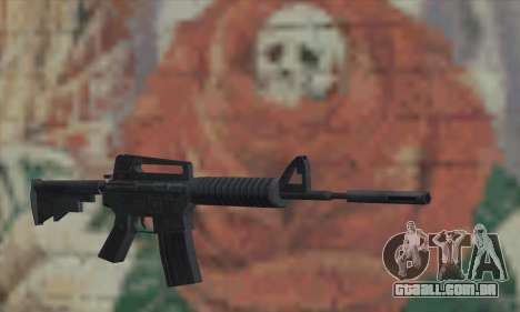 M4A1 de Saints Row 2 para GTA San Andreas