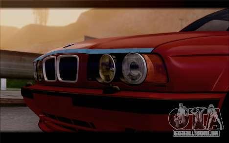 BMW E34 para GTA San Andreas vista direita