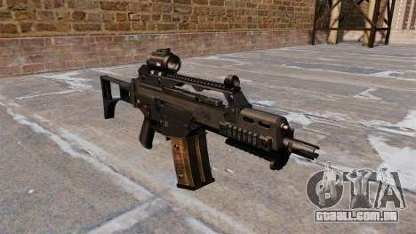 Tactical rifle de assalto HK G36C para GTA 4