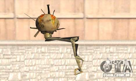 Robo Fallout 3 para GTA San Andreas segunda tela
