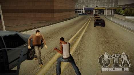 GTA HD Mod 3.0 para GTA San Andreas por diante tela