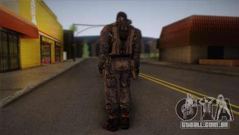 Um mercenário da s. l. a. t. k. e. R para GTA San Andreas segunda tela