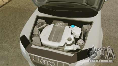Audi S4 2010 para GTA 4 vista interior