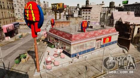 Comer McDonald ' s e Taco Bell para GTA 4 segundo screenshot