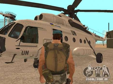 Formulário para CJ para GTA San Andreas segunda tela