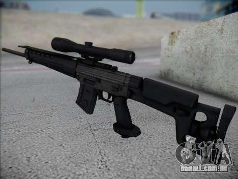 Rifle Sniper HD para GTA San Andreas segunda tela