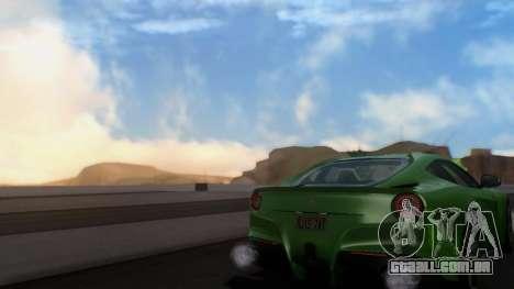 ENBSeries By AVATAR v3 para GTA San Andreas por diante tela