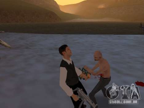 Um mito sobre o pescador para GTA San Andreas