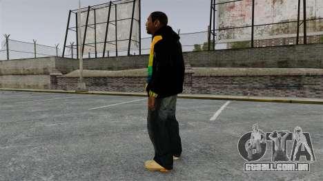 Moletom preto para Playboy X para GTA 4 segundo screenshot