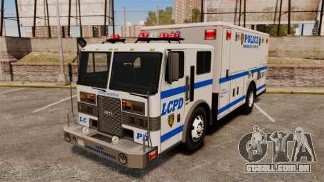 Hazmat Truck LCPD [ELS] para GTA 4