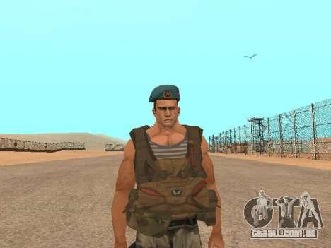 Formulário para CJ para GTA San Andreas