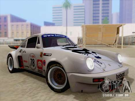 Porsche 911 RSR 3.3 skinpack 1 para o motor de GTA San Andreas