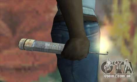 Uma banana de dinamite do Metro 2033 para GTA San Andreas terceira tela