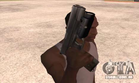 A arma de Left 4 Dead 2 para GTA San Andreas terceira tela