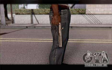 Pistola Flint-Lock para GTA San Andreas terceira tela